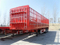 CLW Brand three axles carbon steel 30T 50T 80T Fence trailer