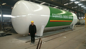 100m3 Liquid Propane Storage Tanks for Sale