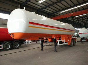 ASME 2 Axles 40cbm Lpg Tanker Semi Trailer for Africa Market
