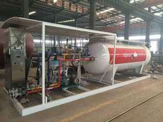 25m3 LPG Cylinder Filling Gas Plant Unit for Sale