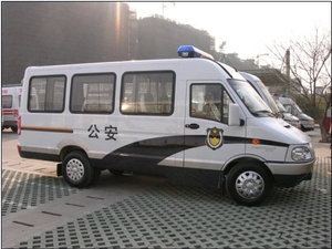 IVECO High Roof Police Mobile Court Truck
