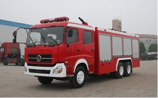 Dong Feng 6x4 10cbm 10 000 liters 10 m3 10 Ton Dry Powder Fire Fighting Truck