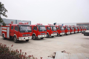 Factory Manufacturer 4X2 Left Hand Driving Water Tank Fire Fighting Truck