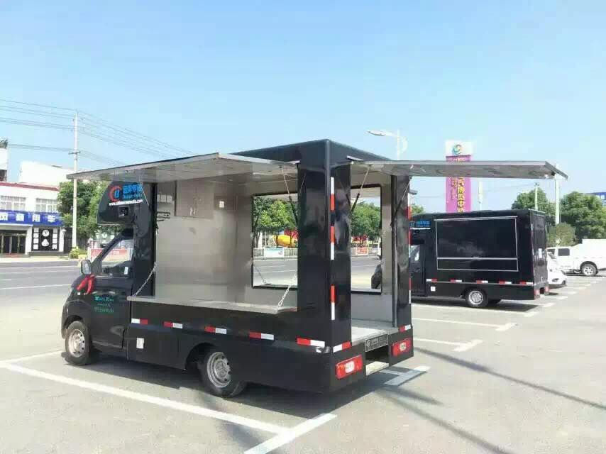 Karry 75hp 4*2 LHD gasoline food truck