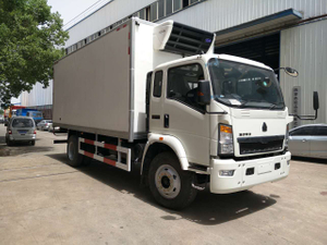 15ton howo 160hp 4*2 LHD refrigerated truck
